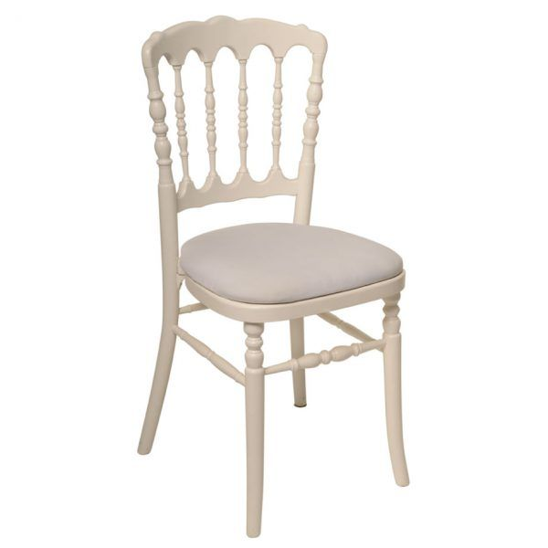 Location de chaise Napoléon blanche