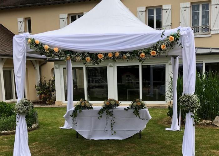 Tente et barnum pour mariage
